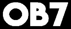 logo ob7 blanco